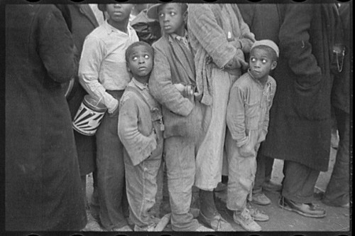 No Known Restrictions: Flood Refugees by Walker Evans, 1937 (LOC)