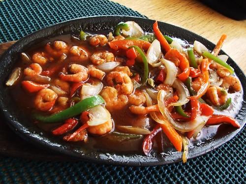 sizzling shrimps