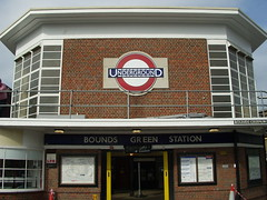 Picture of Bounds Green Station