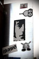 LENNON! (damonabnormal) Tags: street urban art philadelphia sticker 33 label stickers april labels slap bender 07 2007 streetartists slaps uwp citystickers streetstickers philadelphiastreetart philadelphiagraffiti philadelphiaartist