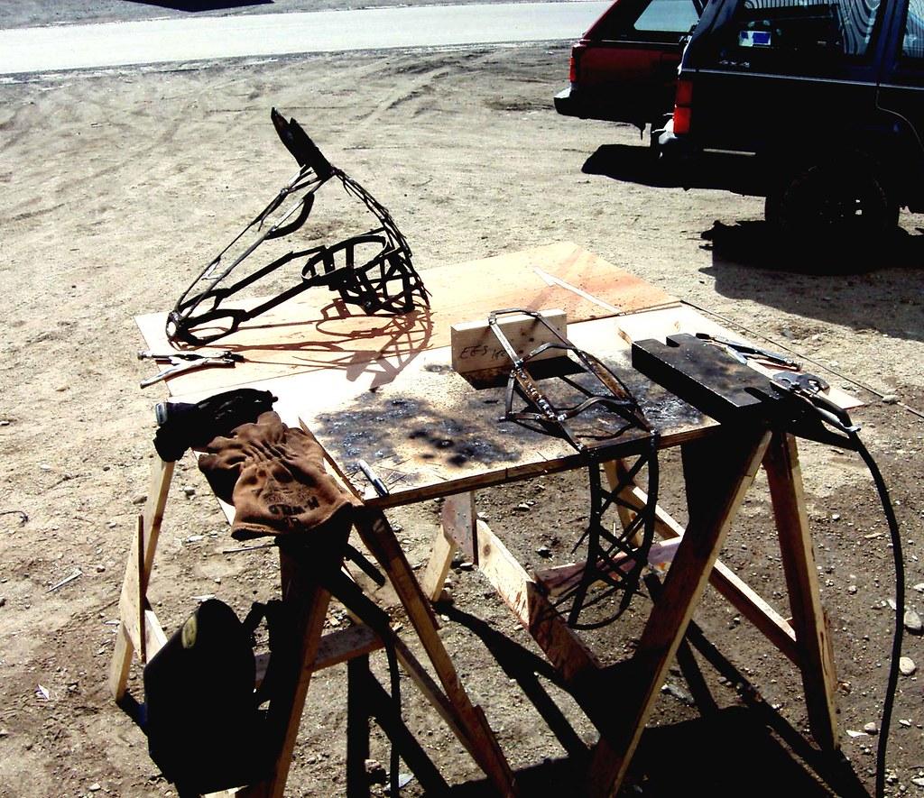 Outdoor welding station
