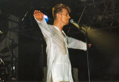 David Bowie, Manchester Academy, 23rd July 1997 (Airiddh) Tags: david bowie