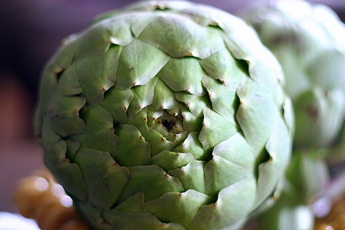 Food appetite: Barley, corn, and haricot vert salad