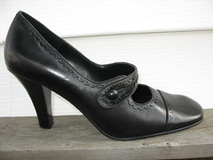 Black Circa Joan & David mary janes 7.5