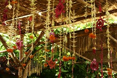 hiyas-hiyasan (Farl) Tags: flowers wedding bali feast community preparation nusadua balinese garlands bayanihan nikah kawin banten pantaimengiat
