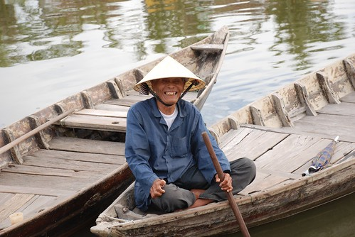 Hoi An fishing man