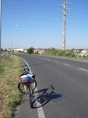 Passando por Vila Fria a caminho de Leceia