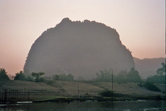 Let there be {a} rock! (krismo_pompas) Tags: rock laos monolith konglor november2006