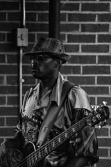 Bass (elventear) Tags: musician music festival bass memphis tennessee band blues bassist memphisinmay bealest b38w black38white