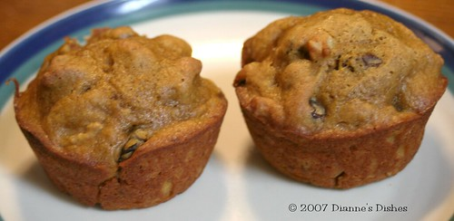 Totally Cheating Pumpkin Walnuts Muffins