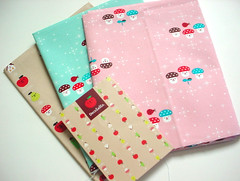 - Decole :: Fabric :: (Warm 'n Fuzzy) Tags: cute mushrooms craft canvas fabric kawaii materials zakka decole