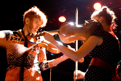 dueling...violins