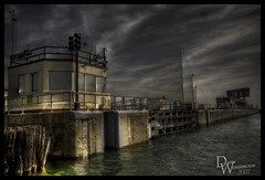 HDR chicago lock - by Wunderlich Photography
