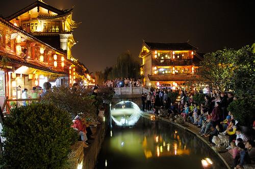 麗江古城-四方街