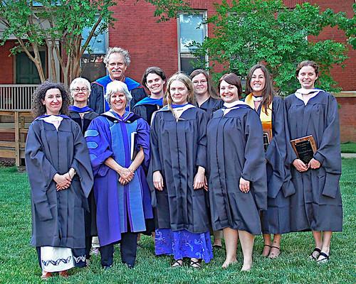 linguistics 2007 department photo (minus a few professors)