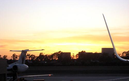 Airport Sunset