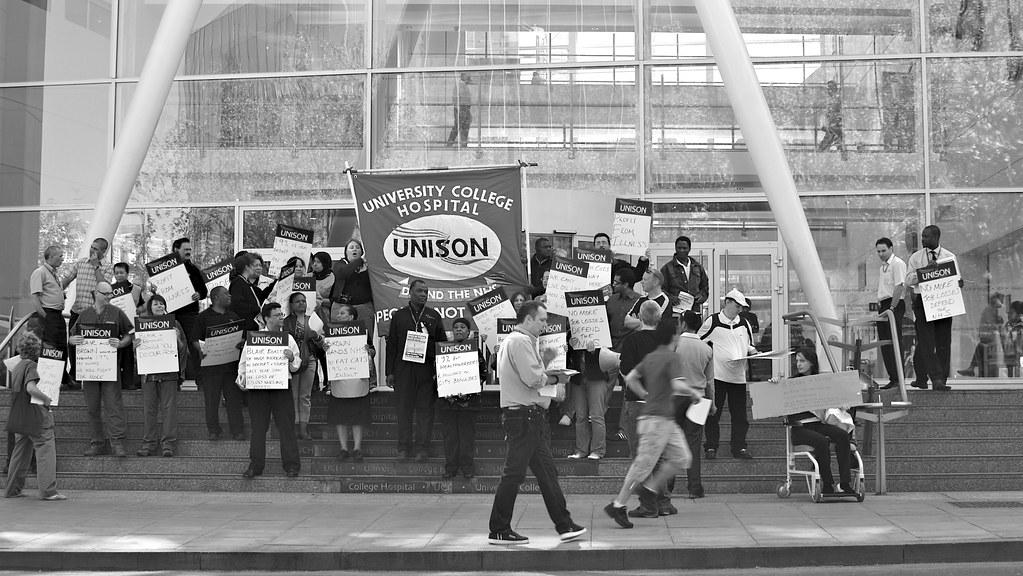 Unison Protest
