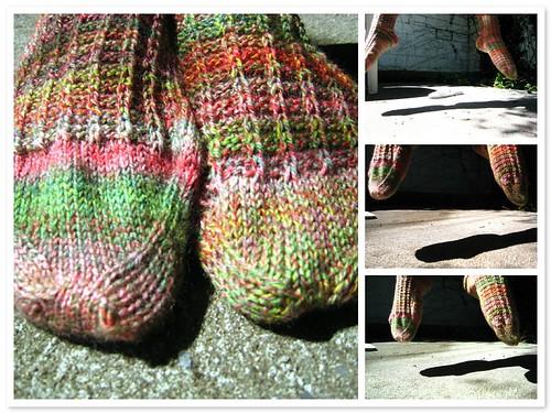 Socks a-jumping