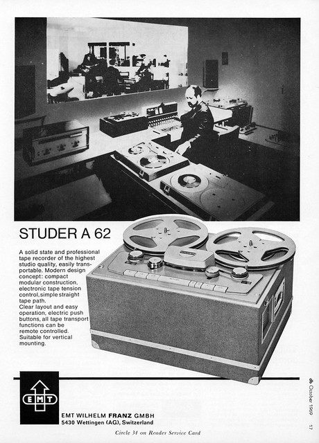 Studer A62 1969