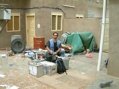Ozdzan in Iraq.