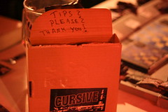 cursive tip box