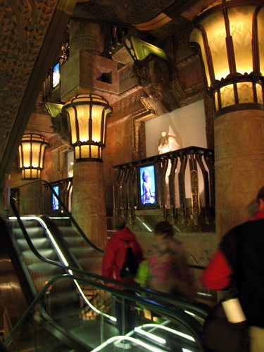 The Egyptian Escalator (seriously)