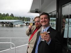 Cheers!! (Vancouver Wedding Guest) Tags: wedding vancouver matt oana oanaandmatt2007