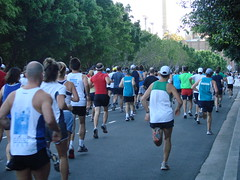 Running in the SMH Half Marathon 2007