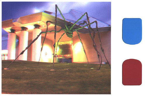 Oversized - Spider with 3-D Glasses