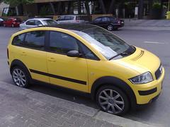 Shrunk Audi