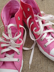 My pink tennies