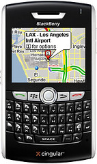 Blackberry 8800 with Google Maps GPS