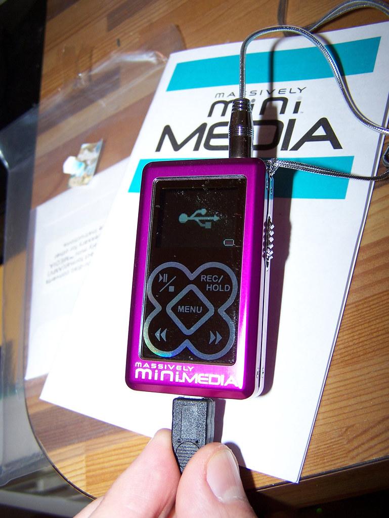 Tiger Electronics Massively Mini Media