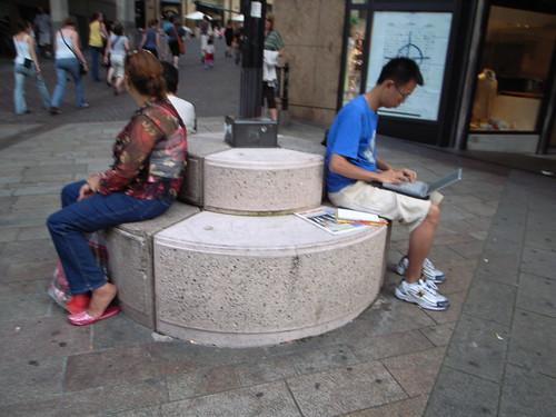 Street laptop
