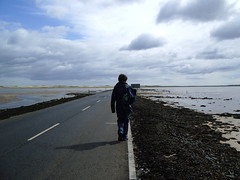 The road to Lindisfarne
