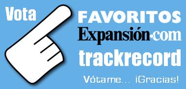Vota trackrecord Favoritos Expansión como 'Mejor blog tecnológico/negocios'