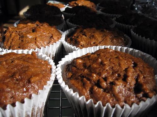 bran molasses muffins