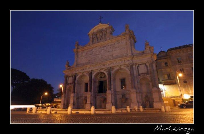 Fontana dell'Aqua Paola, Gianicolo