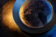 kitchen cosmos (Ralf Stockmann) Tags: blue orange deleteme deleteme2 texture kitchen saveme4 saveme5 saveme6 saveme heart savedbythedeletemegroup saveme2 saveme3 saveme7 salt saveme10 saveme8 saveme9 oil cosmos relfection fryer saveme11 ralfstockmann