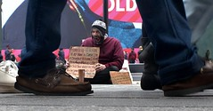 Times Square 167 (stevensiegel260) Tags: timessquare newyork homeless veteran panhandler street streetphotography