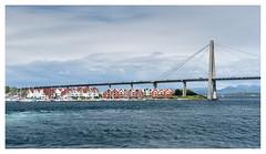 Leaving Stavanger (leo.roos) Tags: ferrysravangertau bridge brug bron ferry 162012 norway noorwegen 2012 spring lente darosa leoroos norwayspring2012 a900 sonyczvariosonnar247028 zeiss