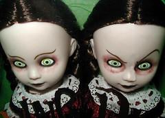 Hazel & Hattie (Jersey JJ) Tags: halloween dead toy toys living scary doll ebay dolls hazel scream horror hattie livingdead