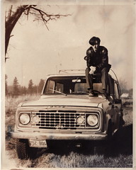 Me and My Jeep Commando at age 17. (bre pettis) Tags: oldphoto photogamer 1973jeepcommando