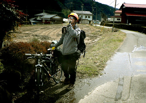 biking in Japan