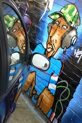 Island records graffiti