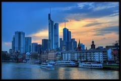 Frankfurt skyline (otrocalpe) Tags: skyline frankfurt main messe hdr ultimateskyscrapershots