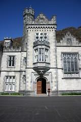 Kylemore Abbey closeup (the jabberwock) Tags: ireland abbey kylemore