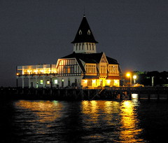 Fisherman's Club_Night (Club de Pescadores) (franciscogualtieri) Tags: reflection water argentina architecture club night buildings river lights fishing fisherman buenosaires karma riodelaplata supershot beautyisintheeyeofthebeholder anawesomeshot