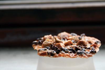 Cocoa Nib Pistachio Florentines