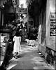 Varanasi Alley (JR Hall) Tags: street travel india film scanned varanasi benares india1998